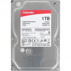 Жесткий диск HDD 1Tb TOSHIBA P300 SATA 6Gb/s 7200rpm 64Mb 3.5
