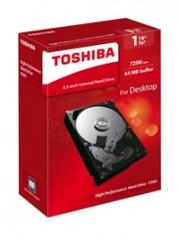 Жесткий диск HDD 1Tb TOSHIBA Р300 SATA 6Gb/s 7200rpm 64Mb 3.5