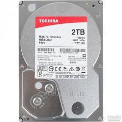 Жесткий диск HDD 2Tb TOSHIBA SATA 6Gb/s 7200rpm 64Mb 3.5