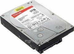 Жесткий диск HDD 3Tb TOSHIBA P300 SATA 6Gb/s  7200rpm 64Mb 3.5