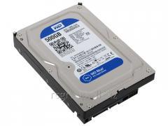 Жесткий диск HDD  500Gb Western Digital Blue SATA 6Gb/s  3.5