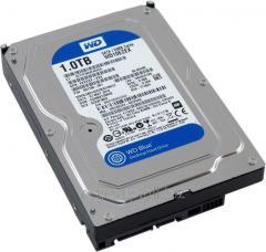 Жесткий диск HDD 1Tb Western Digital Blue SATA 6Gb/s  3.5
