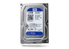 Жесткий диск HDD 1Tb Western Digital Blue SATA 6Gb/s 64Mb 5400rpm WD10EZRZ