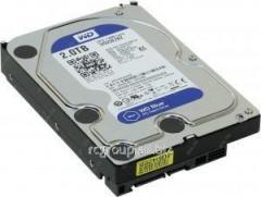 Жесткий диск HDD 2Tb Western Digital Blue SATA 6Gb/s 64Mb 5400rpm WD20EZRZ