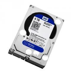 Жесткий диск HDD 6Tb Western Digital Blue SATA 6Gb/s 3.5