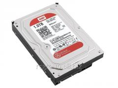 Жесткий диск для NAS систем HDD 1Tb Western Digital Red SATA 6Gb/s 64Mb  WD10EFRX