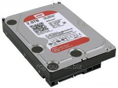 Жесткий диск для NAS систем HDD 2Tb  Western Digital Red  SATA 6Gb/s 3.5