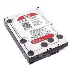 Жесткий диск для NAS систем HDD 4Tb Western Digital RED SATA 6Gb/s 3.5