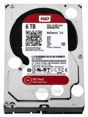 Жесткий диск для NAS систем HDD 6Tb Western Digital RED SATA 6Gb/s 3.5