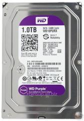 Жесткий диск для видеонаблюдения HDD 1Tb Western Digital Purple WD10PURX SATA 6Gb/s 64Mb 3,5