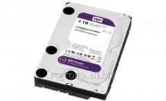Жесткий диск для видеонаблюдения HDD 4Tb Western Digital Purple WD40PURX SATA 6Gb/s 64Mb 3,5