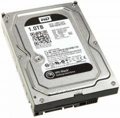 Жесткий диск для производительных ПК HDD 1Tb Western Digital Black SATA 6Gb/s 64Mb 7200rpm 3,5