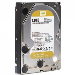 Жесткий диск повышенной надежности для ЦОД и горизонтально масштабируемых архитектур с высокими нагрузками HDD 1Tb Western Digital Gold WD1005FBYZ SATA3 3,5