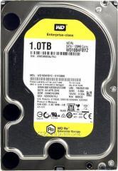 Жесткий диск повышенной надежности для ЦОД и горизонтально масштабируемых архитектур с высокими нагрузками HDD 1Tb Western Digital RE WD1004FBYZ SATA3 3,5
