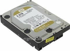 Жесткий диск повышенной надежности для ЦОД и горизонтально масштабируемых архитектур с высокими нагрузками HDD 2Tb Western Digital Gold WD2005FBYZ SATA3 3,5