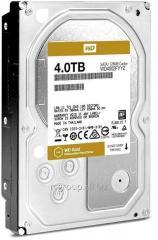 Жесткий диск повышенной надежности для ЦОД и горизонтально масштабируемых архитектур с высокими нагрузками HDD 4Tb Western Digital Gold WD4002FYYZ SATA3 3,5