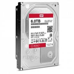 Жесткий диск повышенной надежности для ЦОД и горизонтально масштабируемых архитектур с высокими нагрузками HDD 6Tb Western Digital RED PRO SATA 6Gb/s 3.5