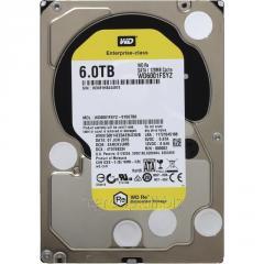 Жесткий диск повышенной надежности для ЦОД и горизонтально масштабируемых архитектур с высокими нагрузками HDD 6Tb Western Digital RE WD6001FSYZ SATA3 3,5