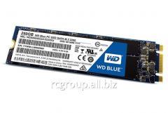 Твердотельный накопитель 250GB SSD WD WDS250G1B0B Серия BLUE M.2 2280 SATA3 R540Mb/s, W500MB/s