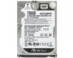 Жесткий диск для ноутбука WD Black 750Gb 2.5