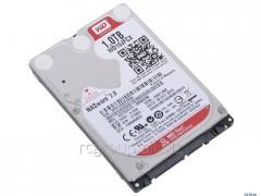 Жесткий диск для ноутбука и для систем NAS повышенной надежности WD RED 1Tb 16Mb  SATA 6Gb 2.5