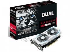 Видеокарта ASUS AMD Radeon RX 460 2Gb 128bit GDDR5 1244/7000 DVIx1 HDMIx1 DPx1 PCI-E3.0 DUAL-RX460-O2G