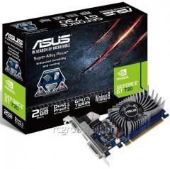 Видеокарта ASUS GeForce GT730 2Gb 64bit GDDR3 902/1800 DVIx1, HDMIx1, CRTx1, HDCP PCI-E GT730-SL-2GD3-BRK BOX