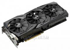 Видеокарта ASUS GeForce GTX1070 8GB 256Bit GDDR5 1860/1920  2xHDMI 1xDVI-D 2xDP HDCP PCI-E3.0 STRIX-GTX1070-O8G-GAMING