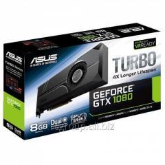 Видеокарта Asus PCI-E TURBO-GTX1080-8G nVidia GeForce GTX260 8192Mb 256bit GDDR5X 1607/10010 DVIx1/HDMIx2/DPx2/HDCP Ret 90YV09S0-M0NA00