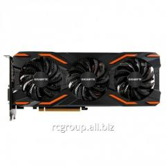 GVN1080WO8-00-G Видеокарта Gigabyte PCI-E GV-N1080WF3OC-8GD nVidia GeForce GTX1080 8192Mb 256bit GDDR5X 1657, 10010 DVIx1, HDMIx1, DPx3, HDCP Ret GVN1080WO8-00-G