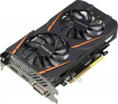 Видеокарта Gigabyte PCI-E GV-RX460WF2OC-2GD AMD Radeon RX460 2048Mb 128bit GDDR5 1212/7000 DVIx1/HDMIx1/DPx1 Ret GVRX460WO2-00-G11