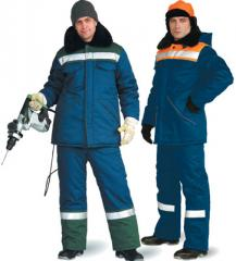 Overalls for protection against low temperatures,