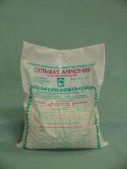 Ammonium sulfate, ammonium sulfate, fertilizer