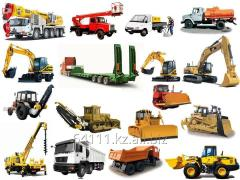 Dump trucks and the excavator are required on