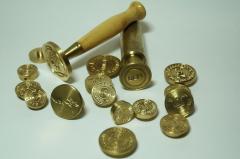 Пломбиры, печати на пластилин