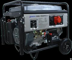 Бензиновый генератор Demark DMG 7500FE-3