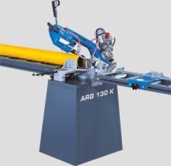 Machine lentochnopilny manual Pilous ARG 130 K