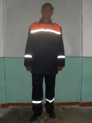 Road builder's suit, summer.