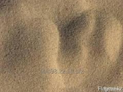 The quartz enriched sand