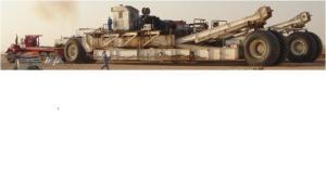 Mobile ZJ 40 drilling rig