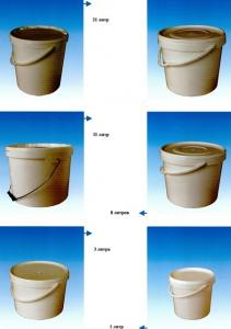 Buckets for pain