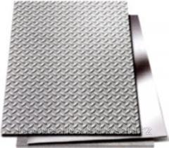 Лист рифленый 4 мм (1.25*6)