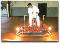 Самоходная двухроторная затирочная машина