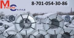 The steel zinced in rolls of 0.45*1250 mm, an art. 44544315