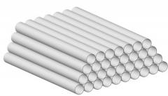 Asbestos-cement pipe free-flow 150 of mm of BNT