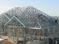 Frameworks made of metal for prefabricated
