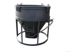 Бункер для заливки бетона