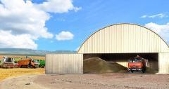 Конструкция зернохранилища
