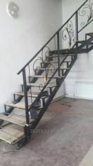 Каркас лестницы внутридомовой