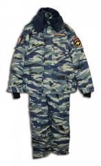 Костюм утепленный Полиция КМФ ткань Мембрана